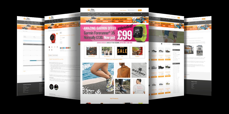 Alton Sports Website Showcase