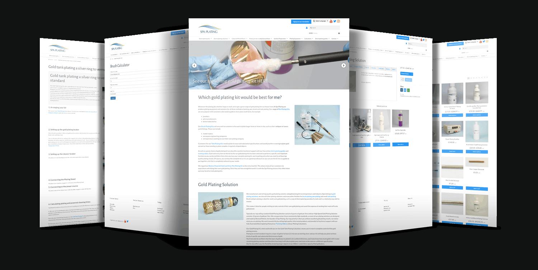 Spa Plating Website Showcase