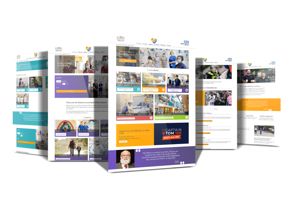 Southmead Hospital Charity - New Website